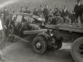 ACCIDENTE DE TRAFICO DE UN AUTOMOVIL EN LA N-1 A SU PASO POR LA LOCALIDAD DE ANDOAIN. (Foto 4/7)