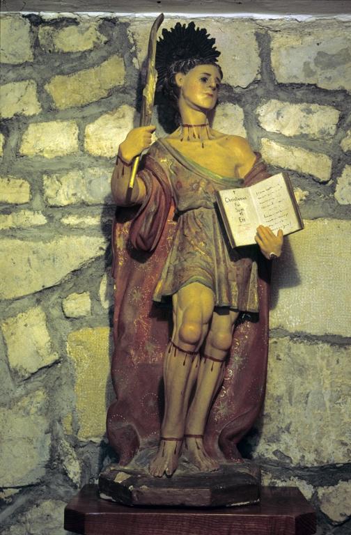Ermita de San Pelayo. Escultura. San Pelayo