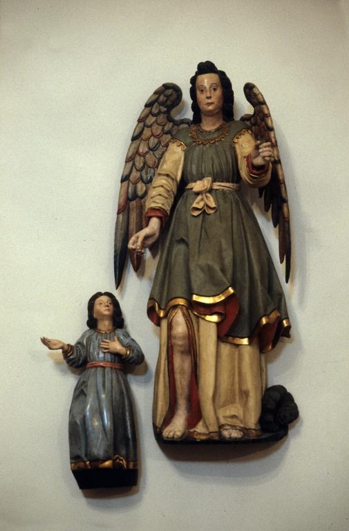 Ermita de San Pelayo. Escultura. Ángel de la Guarda