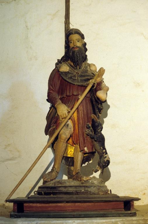 Ermita de San Martín. Escultura. San Roque