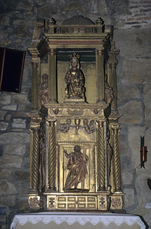 Ermita de San Prudencio. Tabernáculo