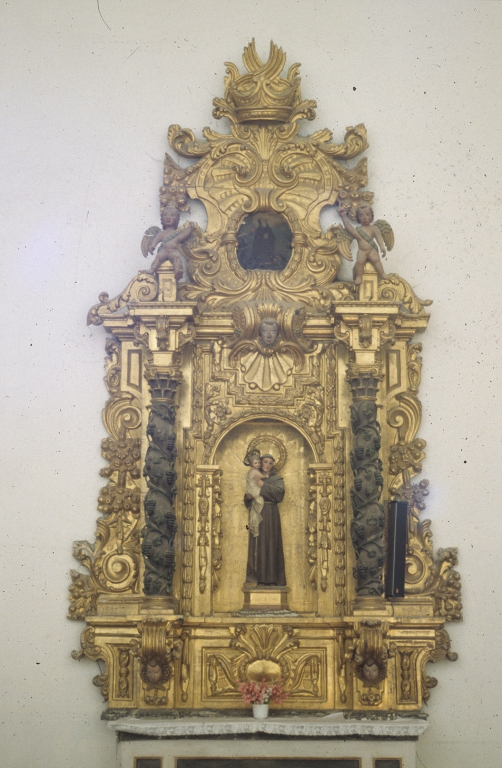 Iglesia parroquial de Nuestra Señora de la Asunción Gaztelu. Retablo de San Antonio