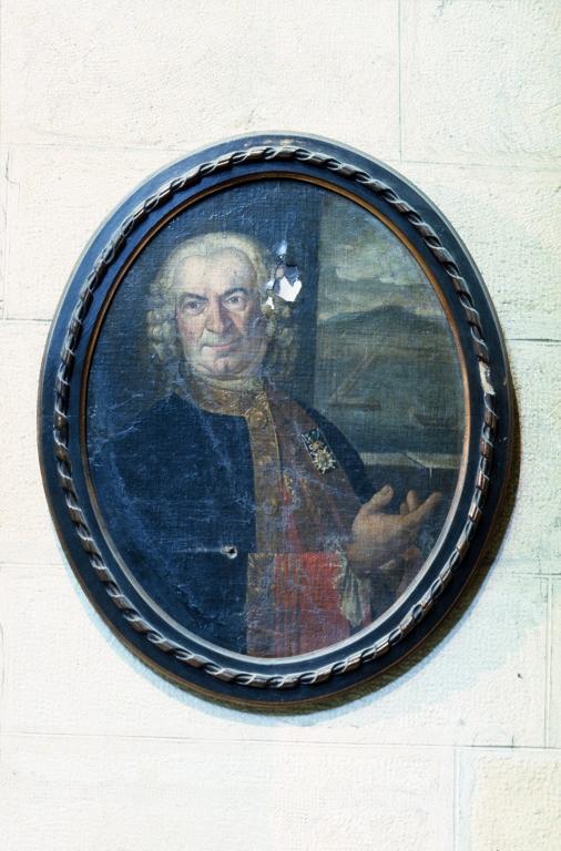 Iglesia parroquial de San Esteban. Pintura. Retrato de José Ignacio Salaverria
