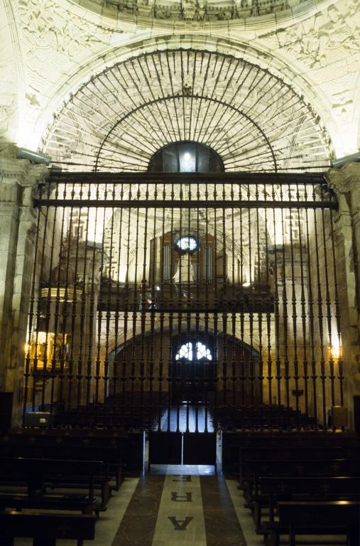 Basílica del Santo Cristo de Lezo. Reja