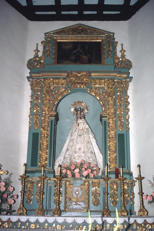 Ermita de Lierni. Retablo de Andra Mari