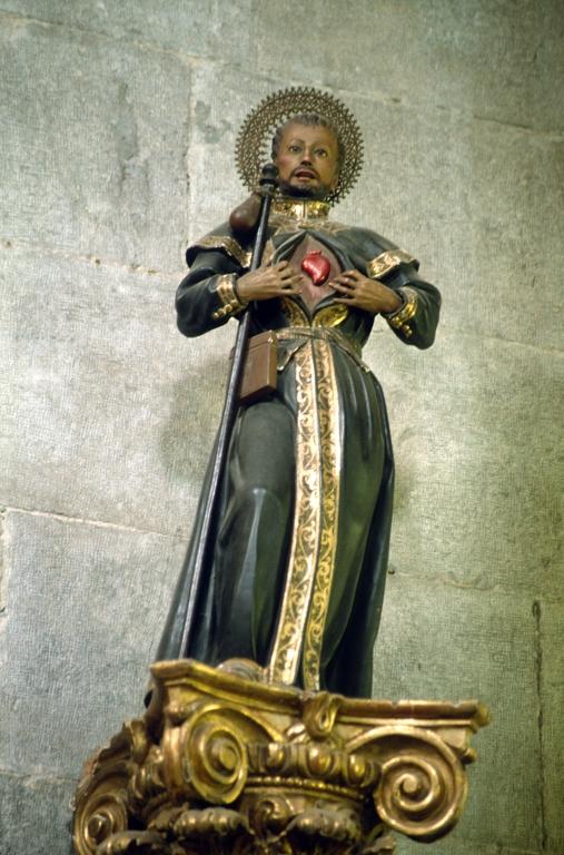 Iglesia parroquial de Nuestra Señora de la Asunción. Escultura. San Francisco Javier