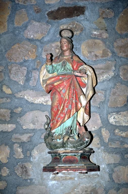 Ermita de San Miguel de Motxorro. Escultura. Santa Marina