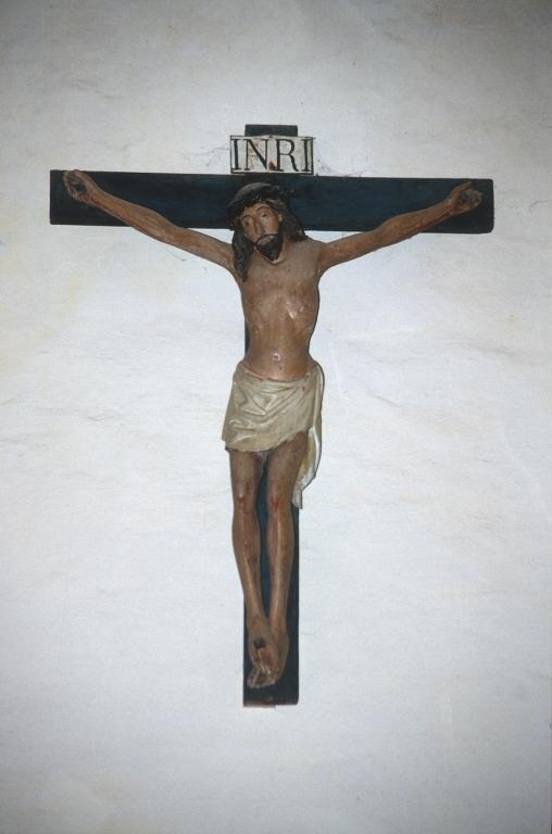 Ermita de San Nicolás de Lastur. Escultura. Cristo Crucificado
