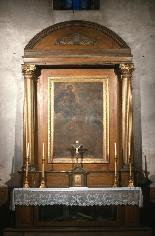 Iglesia parroquial de Nuestra Señora de la Asunción. Retablo de las Ánimas