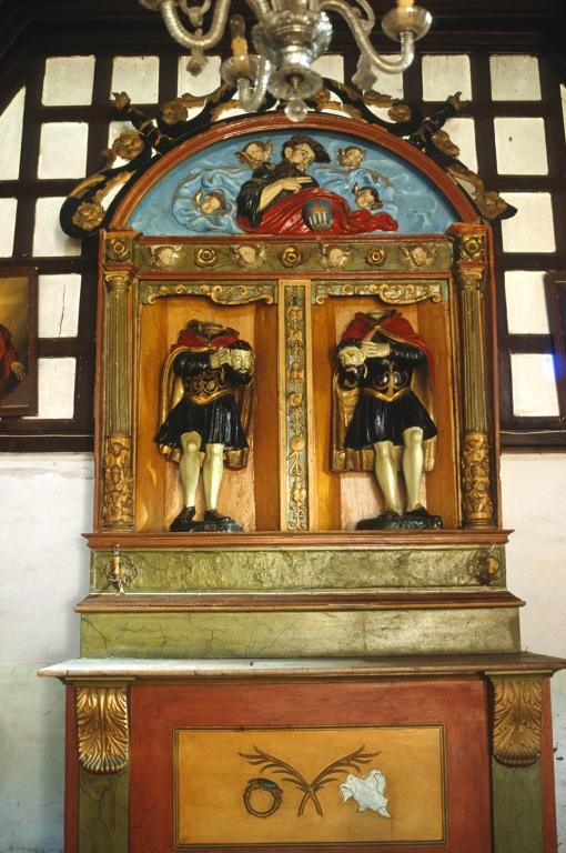 Ermita de San Emeterio y San Celedonio. Retablo de San Emeterio y San Celedonio