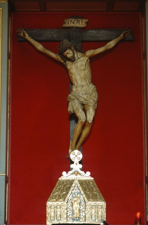Iglesia parroquial de San Vicente. Escultura. Cristo Crucificado