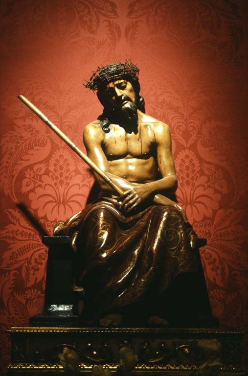 Iglesia parroquial de San Vicente. Escultura. Ecce-homo