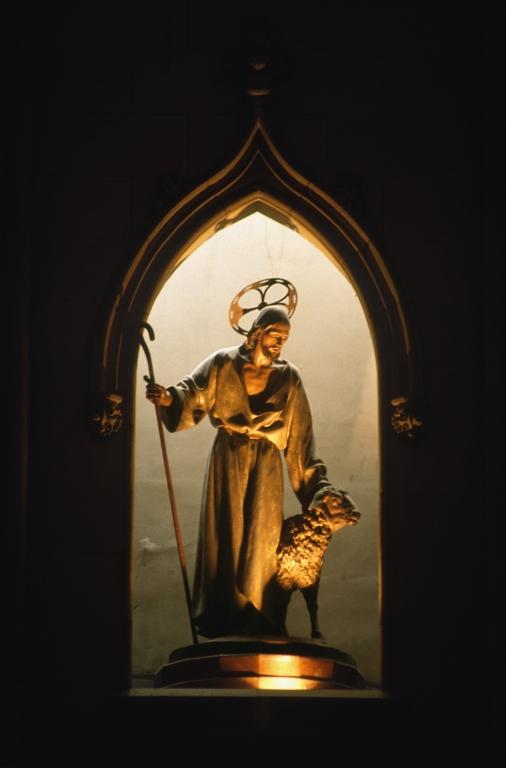 Catedral del Buen Pastor. Escultura. Buen Pastor