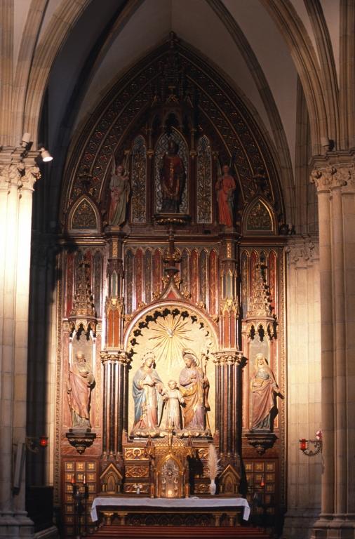Catedral del Buen Pastor. Retablo de la Sagrada Familia