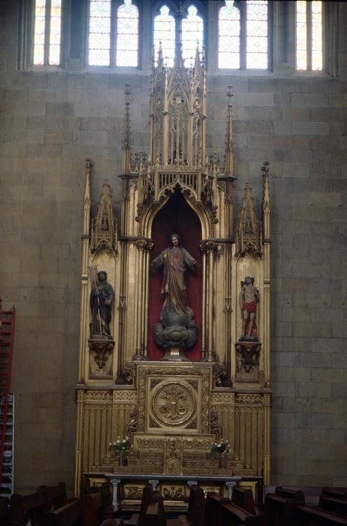 Catedral del Buen Pastor. Retablo del Sagrado Corazón de Jesús