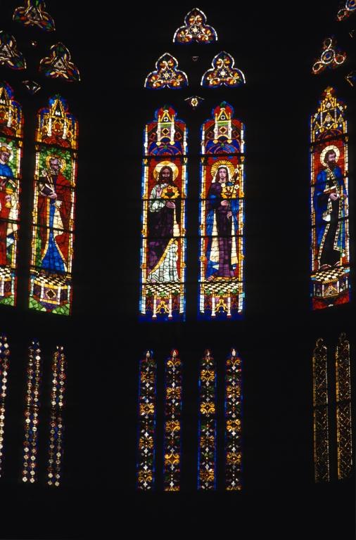 Catedral del Buen Pastor. Vidrieras