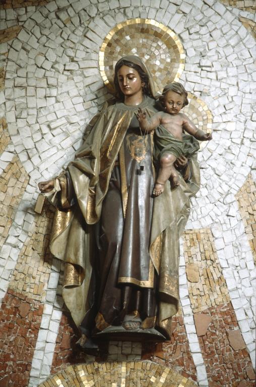 Iglesia de San Pedro del muelle. Escultura. Virgen del Carmen