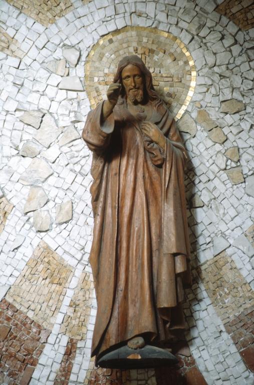 Iglesia de San Pedro del muelle. Escultura. Sagrado Corazón de Jesús