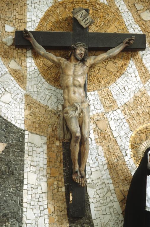 Iglesia de San Pedro del muelle. Escultura. Cristo Crucificado