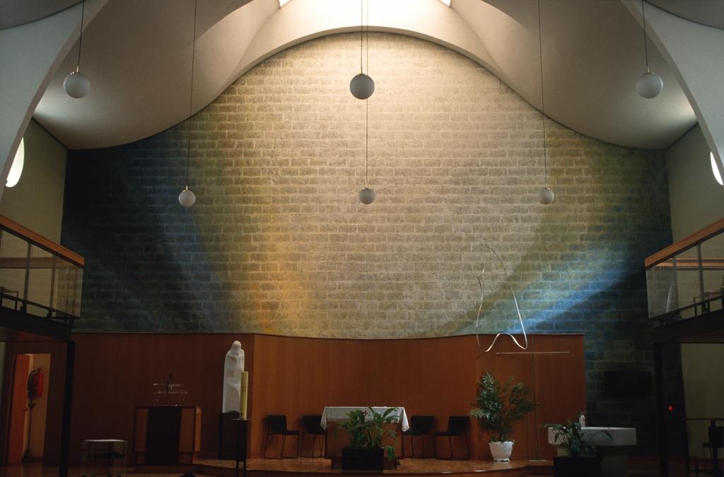 Iglesia parroquial del Sagrado Corazón de Jesús de Loiola. Pintura. Espacio para una teofanía