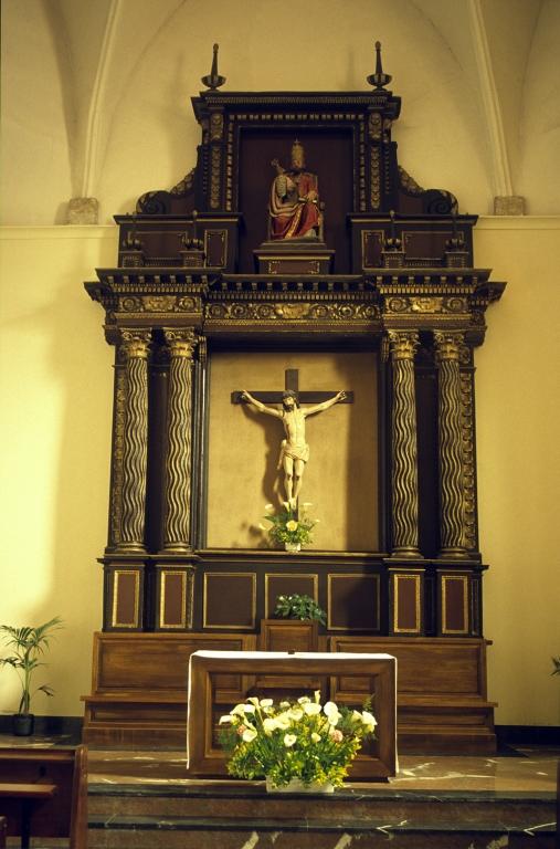 Iglesia parroquial de San Pedro de Igeldo. Retablo de San Pedro