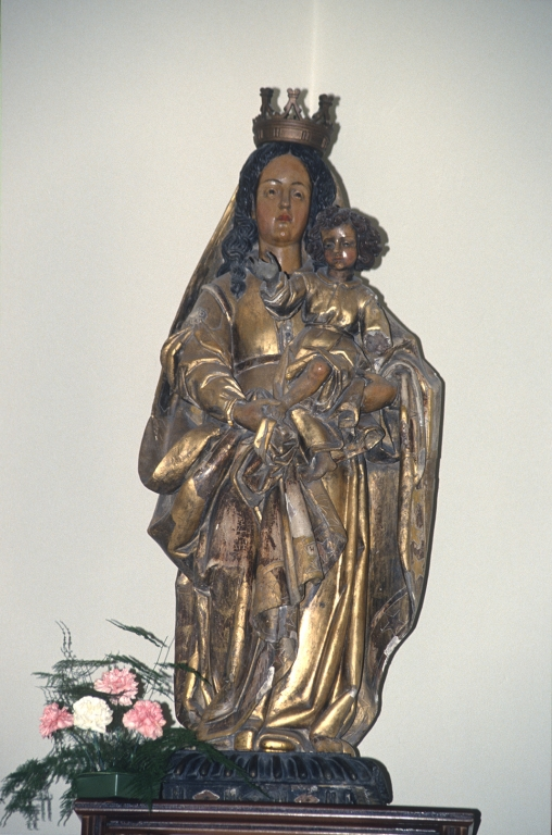Iglesia parroquial de San Pedro de Igeldo. Escultura. Virgen con niño