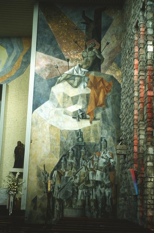Iglesia parroquial de San Sebastián Mártir. Pintura. Martirio de San Sebastián