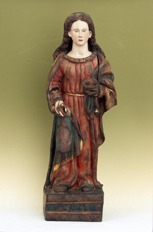 Museo Diocesano de San Sebastián. Escultura. Santa Lucía
