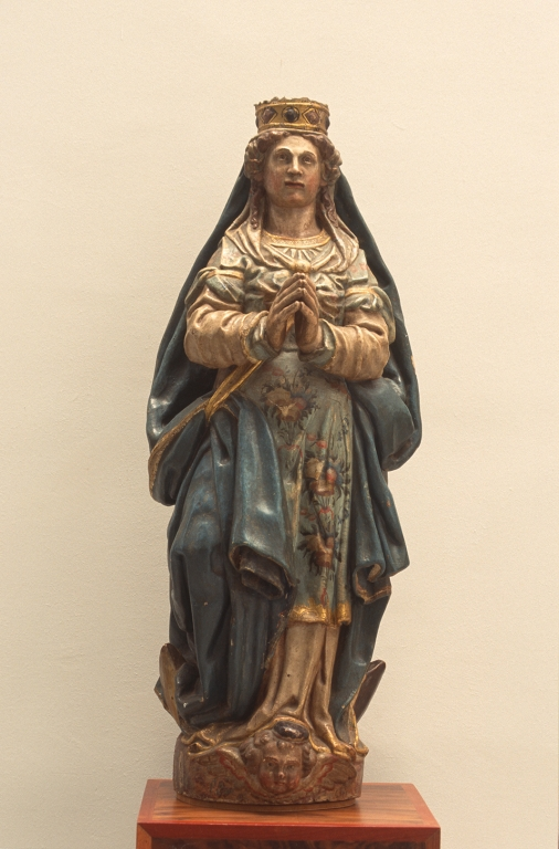 Museo Diocesano de San Sebastián. Escultura. Inmaculada Concepción