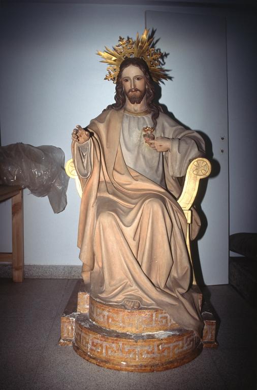 Museo Diocesano de San Sebastián. Escultura. Sagrado Corazón de Jesús