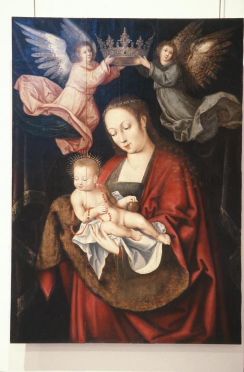 Museo Diocesano de San Sebastián. Pintura. Virgen con niño