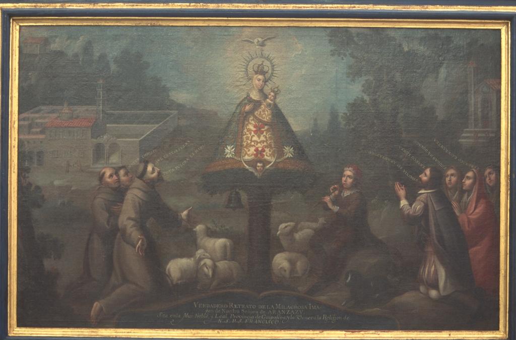 Museo Diocesano de San Sebastián. Pintura. Virgen de Aránzazu