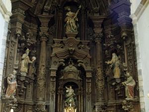 Iglesia parroquial de San Juan Bautista. Retablo de San Juan Bautista