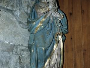 Iglesia parroquial de San Juan Bautista. Escultura. Virgen del Rosario