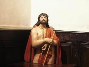 Iglesia parroquial de San Juan Bautista. Escultura. Ecce-homo
