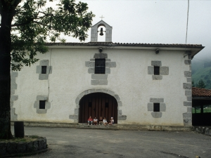 Ermita de la Andra Mari de Larraitz. Ermita de la Andra Mari de Larraitz