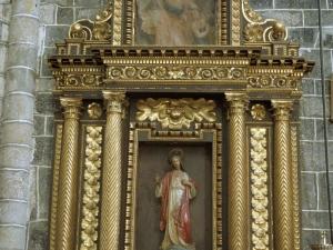 Iglesia parroquial de Nuestra Señora de la Asunción. Retablo del Sagrado Corazón de Jesús