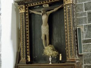 Iglesia parroquial de Nuestra Señora de la Asunción. Retablo de Cristo Crucificado
