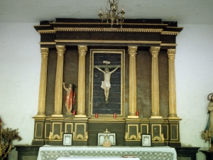 Ermita de Santa Cruz. Retablo de Santa Cruz