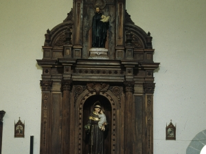 Iglesia parroquial de Nuestra Señora de la Asunción. Retablo de San Antonio