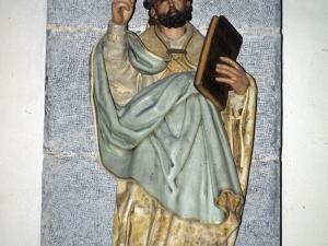 Iglesia parroquial de Nuestra Señora de la Asunción. Escultura. San Gregorio