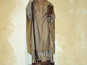 Ermita de San Gregorio. Escultura. San Gregorio