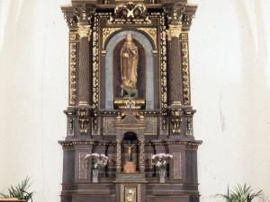 Ermita de Santa Marina de Argisain. Retablo de Santa Marina