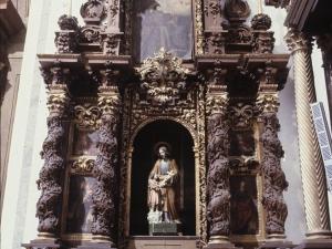 Iglesia parroquial de San Juan Bautista. Retablo de San José