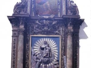 Iglesia parroquial de San Juan Bautista. Retablo de las Ánimas