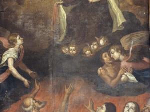 Iglesia parroquial de San Juan Bautista. Pintura. Ánimas