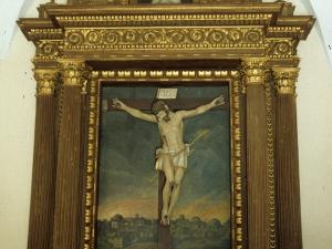 Ermita del Santo Cristo. Retablo de Santo Cristo