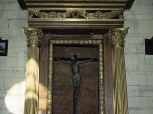 Iglesia parroquial de San Martín de Tours. Retablo de Cristo Crucificado