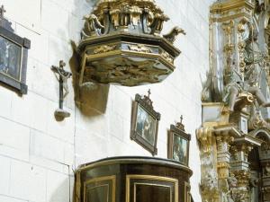 Iglesia parroquial de San Martín de Tours. Púlpito