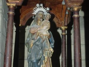 Iglesia parroquial de San Martín de Tours. Escultura. Virgen del Rosario